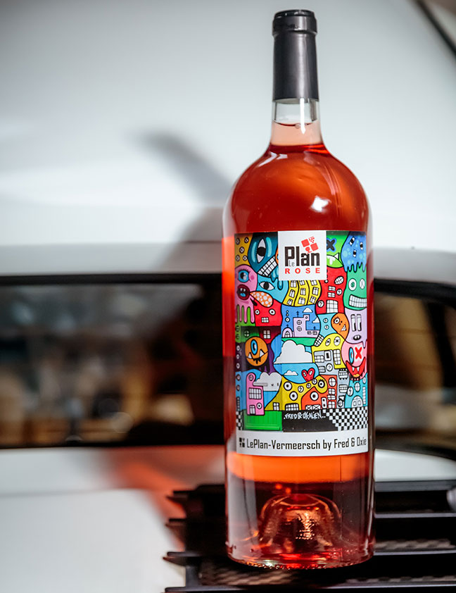 LePlan Rosé 2015 by FRED & OXIE