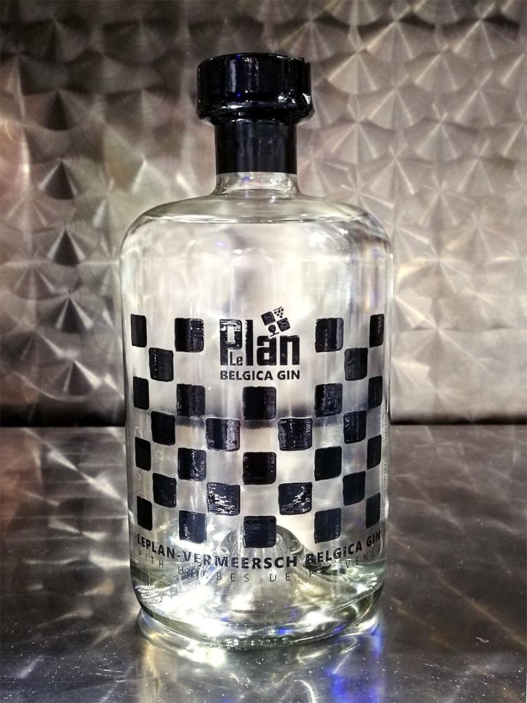 LePlan Belgica Gin Bottle