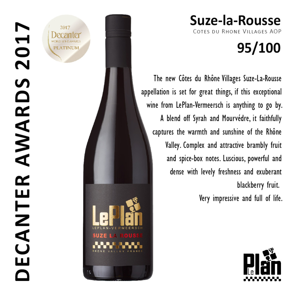 SUZE 2016 DECANTER