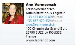fichier vCard Ann Vermeersch