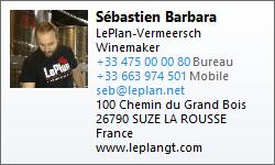 Sebastien Barbara's vCard file